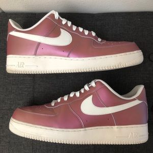Nike Air Force 1 '07 LV8 Track Red/White Men's 13